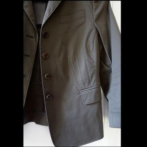 AKRIS Punto Green Grey Jacket LIKE NEW